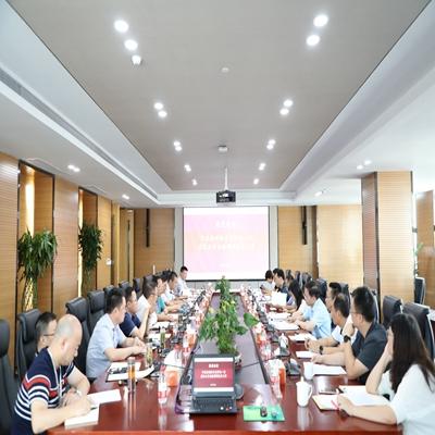 合肥市政府副秘书长钟鸣一行来bwin中国金融调研